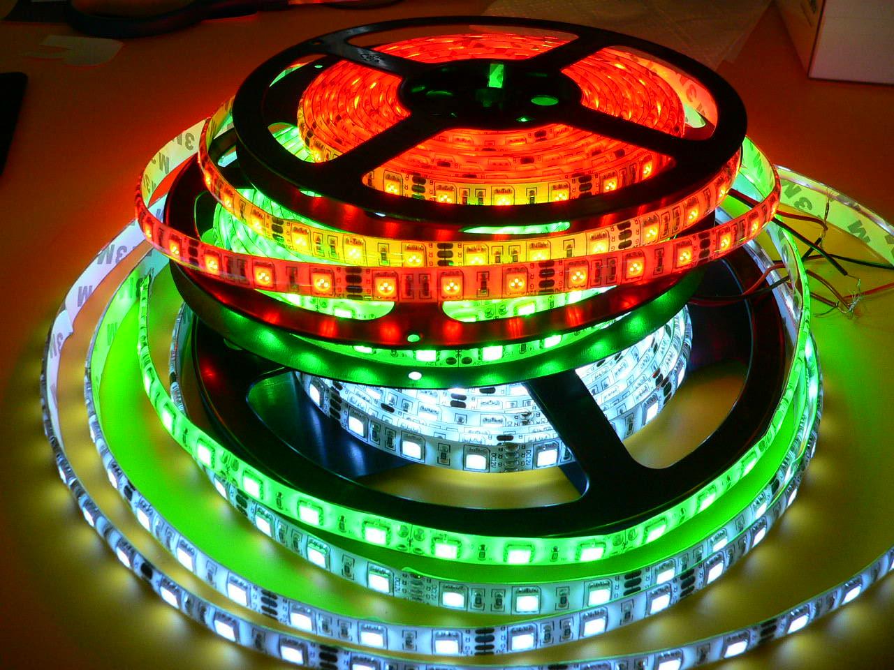 схема светодиодной ленты 220v 3528